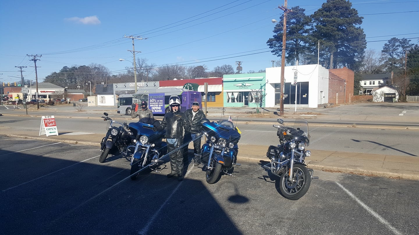 Very Cold Lunch Ride - New Year's Day 2018